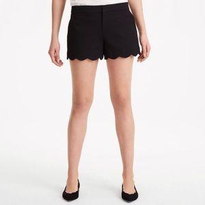 Club Monaco Women's Amber Scalloped Shorts 10